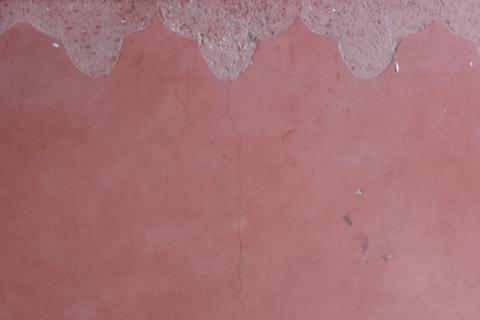 pared con revestimiento tadelakt formacion defango bioconstruccion pared natural
