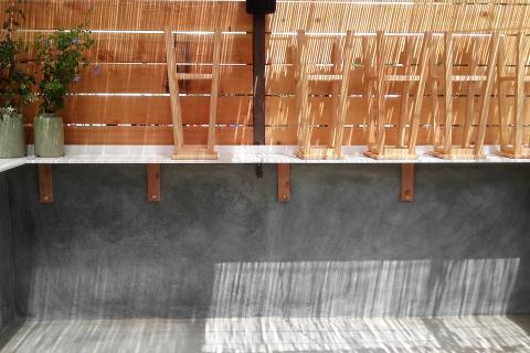 yeso reforma bioconstruccion restaurante defango paredes sanas belleza calidez calidad pintura natural revestimiento yeso