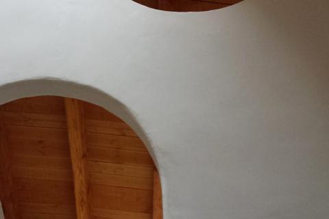 bioreforma natural pintura de cal yeso bioconstruccion paredes sanas arquitectura sostenible bioarquitectura defango